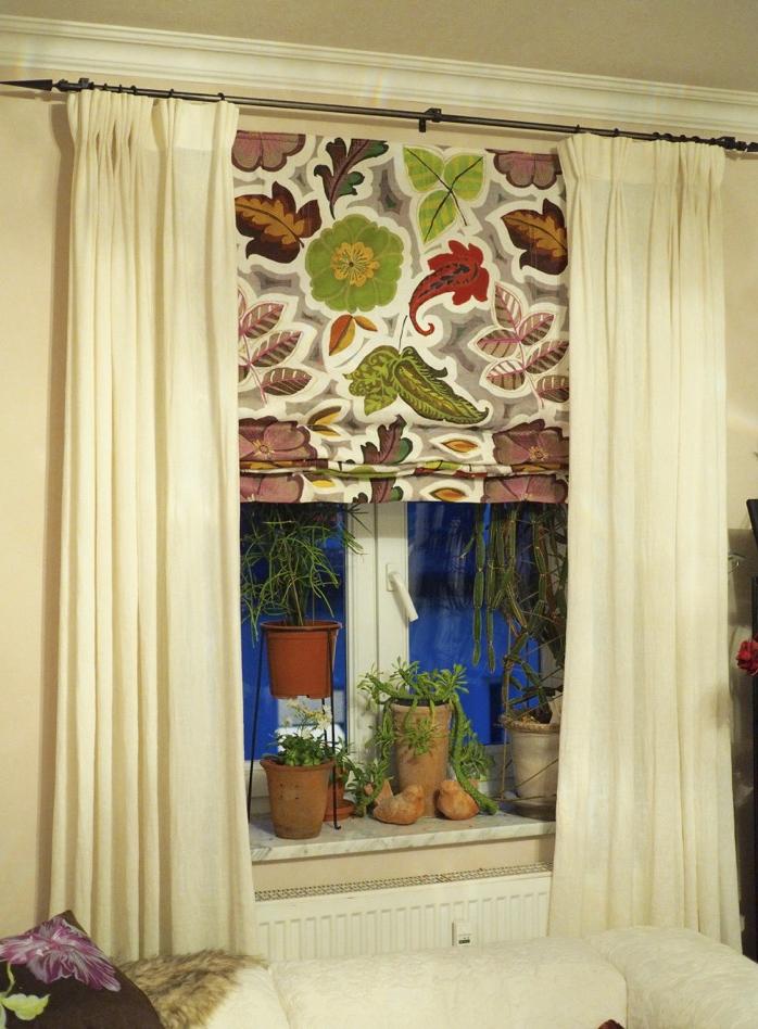 Vorhnge gardinen affordable kstlich wohnzimmer fenster for Vorhang modernes haus
